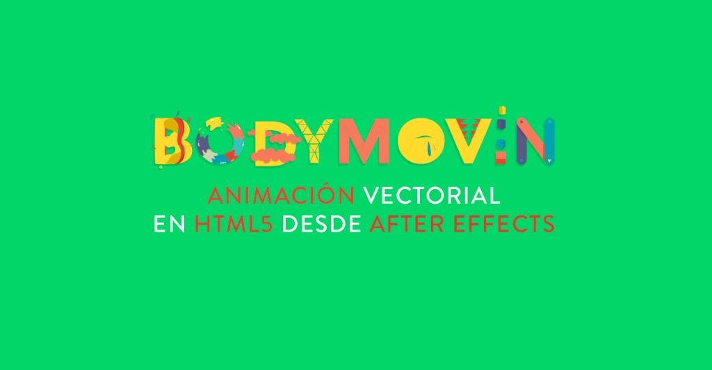 bodymovin animacion vectorial html5 desde after effects