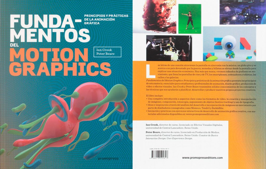 Libro Fundamentos del motion graphics