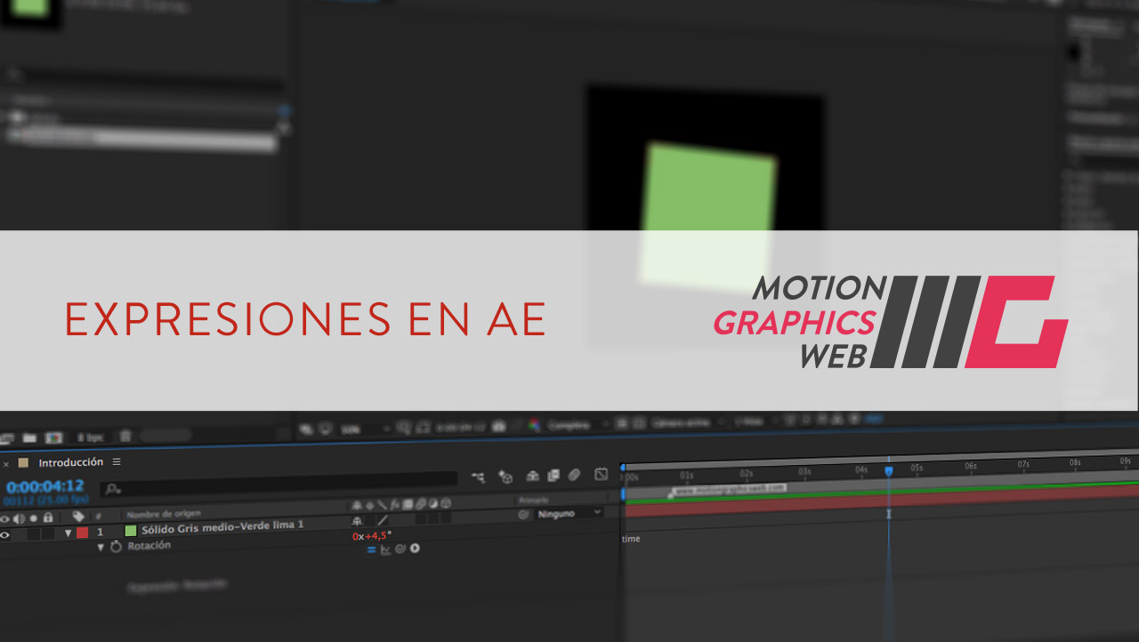 Aplicar Expresiones en After Effects