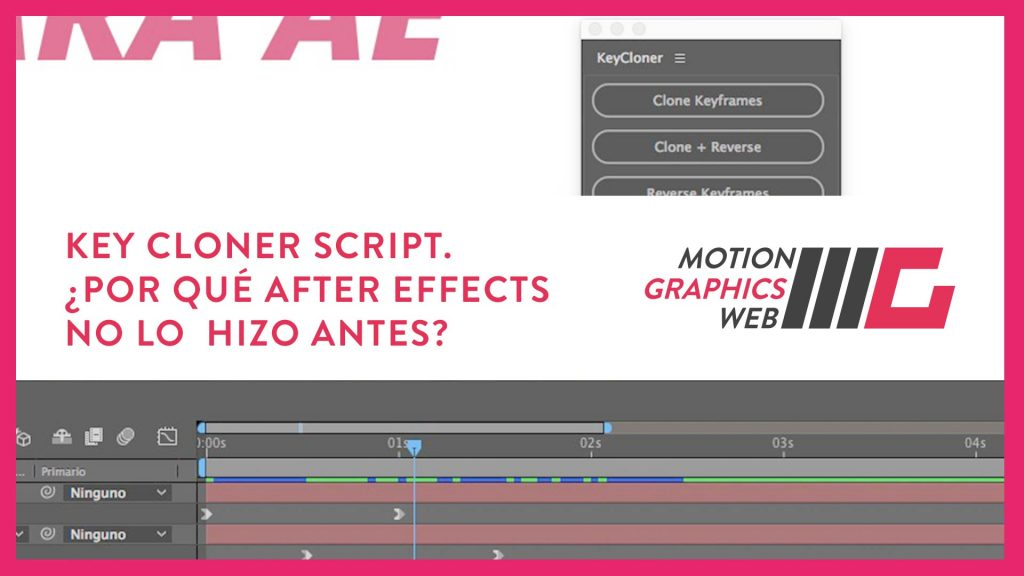 Key Cloner Script para Adobe After Effects